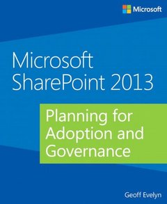 Microsoft SharePoint 2013 Planning for Adoption and Governance (Paperback)-cover