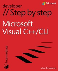 Microsoft Visual C++/CLI Step by Step (Paperback)-cover
