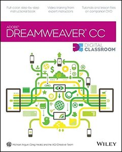Dreamweaver CC Digital Classroom (Paperback)-cover