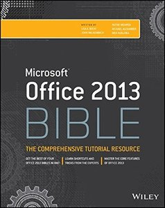 Office 2013 Bible, 4/e (Paperback)-cover