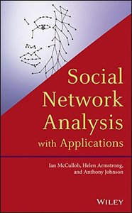 Social Network Analysis with Applications (Hardcover)-cover