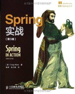 Spring 實戰 (第3版) (Spring in Action, 3/e)-cover