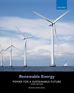 Renewable Energy: Power for a Sustainable Future, 3/e (Paperback)