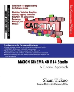 MAXON CINEMA 4D R14 Studio: A Tutorial Approach (Paperback)-cover