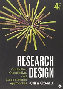 Research Design: Qualitative, Quantitative, and Mixed Methods Approaches, 4/e (Paperback)-cover