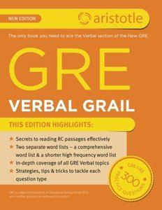GRE Verbal Grail (Paperback)-cover