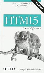 HTML5 Pocket Reference, 5/e (Paperback)-cover