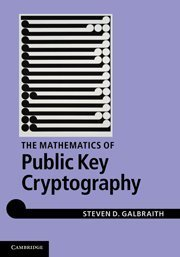 Mathematics of Public Key Cryptography (Hardcover)-cover