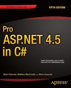 Pro ASP.NET 4.5 in C#, 5/e (Paperback)-cover
