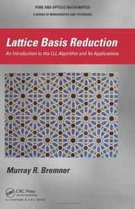 Lattice Basis Reduction: An Introduction to the LLL Algorithm and Its Applications (Hardcover)-cover