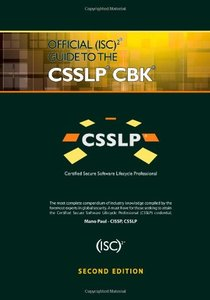 Official (ISC)2 Guide to the CSSLP CBK, 2/e (Hardcover)-cover