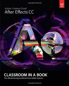 Adobe After Effects CC Classroom in a Book (Paperback)-cover