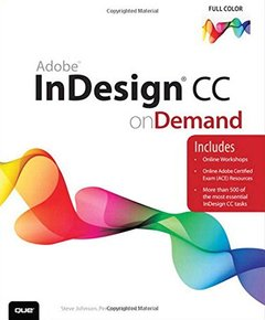 Adobe InDesign CC on Demand (Paperback)-cover