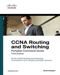 CCNA Routing and Switching Portable Command Guide, 3/e (Paperback)-cover
