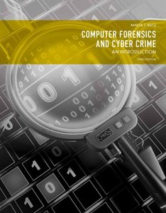 Computer Forensics and Cyber Crime: An Introduction, 3/e (Paperback)-cover