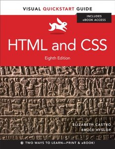 HTML and CSS: Visual QuickStart Guide, 8/e (Paperback)