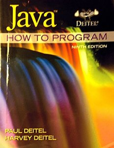 Java How to Program (early objects), 9/e (Paperback)-cover