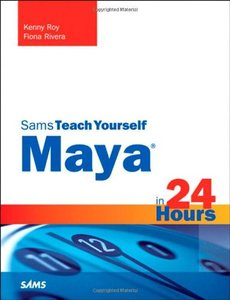 Sams Teach Yourself  Maya in 24 Hours (Paperback)-cover