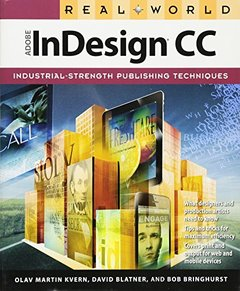 Real World Adobe InDesign CC (Paperback)-cover
