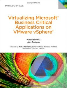 Virtualizing Microsoft Business Critical Applications on VMware vSphere (Paperback)-cover