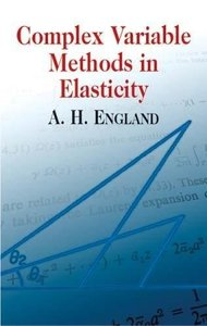 Complex Variable Methods in Elasticity (Paperback)
