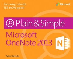 Microsoft OneNote 2013 Plain & Simple (Paperback)-cover