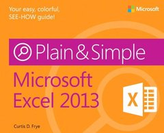 Microsoft Excel 2013 Plain & Simple (Paperback)-cover