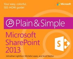 Microsoft SharePoint 2013 Plain & Simple (Paperback)-cover