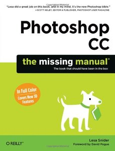 Photoshop CC: The Missing Manual (Paperback)-cover