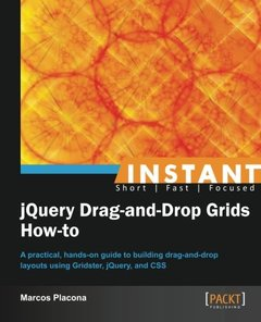 Instant jQuery Drag-and-Drop Grids How-to-cover