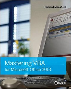 Mastering VBA for Microsoft Office 2013 (Paperback)-cover