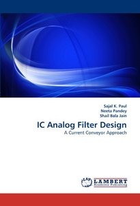 IC Analog Filter Design: A Current Conveyor Approach (Paperback)-cover