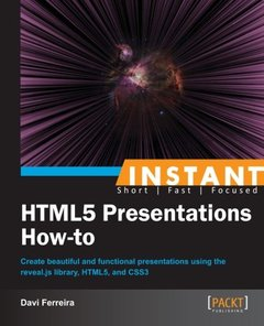 Instant HTML5 Presentations How-to-cover