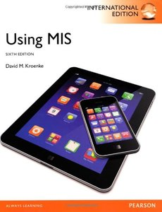 Using MIS, 6/e (IE-Paperback)-cover