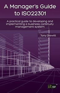 Manager's Guide to Iso22301 (Paperback)-cover