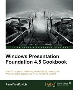 Windows Presentation Foundation 4.5 Cookbook-cover