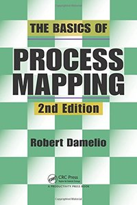 The Basics of Process Mapping, 2/e (Paperback)-cover