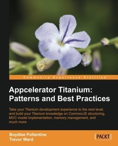 Appcelerator Titanium: Patterns and Best Practices (Paperback)-cover