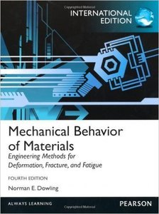 Mechanical Behavior of Materials-Engineering Methods for Deformation, Fracture & Fatigue, 4/e (IE-Paperback)-cover