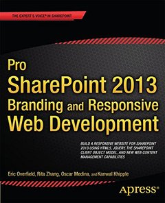 Pro SharePoint 2013 Branding and Responsive Web Development (Paperback)-cover