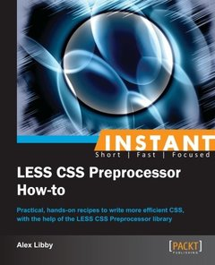 Instant LESS CSS Preprocessor How-to-cover