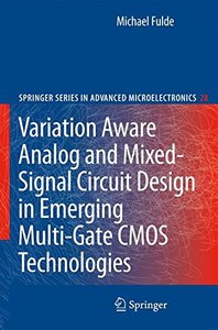 Variation Aware Analog and Mixed-Signal Circuit Design in Emerging Multi-Gate CMOS Technologies (Hardcover)-cover