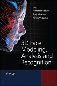 3D Face Modeling, Analysis and Recognition (Hardcover)-cover