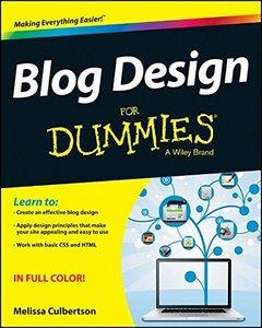Blog Design For Dummies (Paperback)