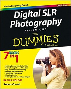 Digital SLR Photography All-in-One For Dummies, 2/e (Paperback)-cover
