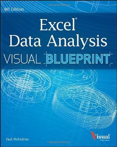 Excel Data Analysis: Your visual blueprint for analyzing data, charts, and PivotTables, 4/e (Paperback)-cover