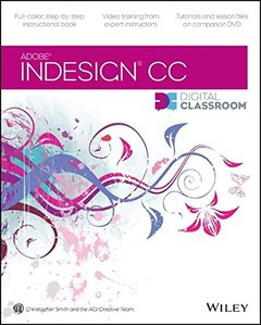 InDesign CC Digital Classroom (Paperback)-cover