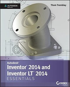Inventor 2014 and Inventor LT 2014 Essentials: Autodesk Official Press (Paperback)-cover