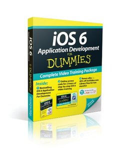 iOS 6 Application Development For Dummies, Book + Online Video Training Bundle, 5/e (Paperback)-cover