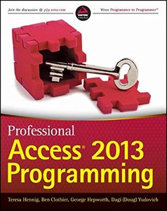 Professional Access 2013 Programming (Paperback)-cover